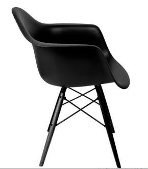 DAW Armchair Sonderedition schwarz by Charles Eames 1948
